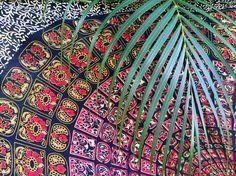 Royal Voyage Sarong // Beach Boho Pareo, Wrap, Blanket, Wall Hanging, Tapestry
