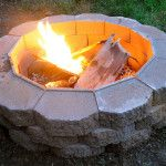DIY Fire Pit… It's easier than you think. Source:
