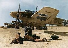 Luftwaffe Bf-110 North Afrika