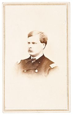 CDV of BBG George Alexander Forsyth, 8th Illinois Cavalry, AdC to Sheridan and Later Notable Service in Indian Wars (4/30/2014 - Firearms and Militaria: Live Salesroom Auction)