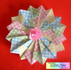 Mandala de Origami.Tutorial
