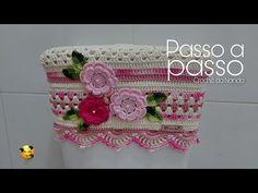 Crochet Basket Pattern, Baby Shower, Crochet Baby, Crochet Projects, Knitting, Diy, Youtube, Bathroom Mat, Crochet Carpet