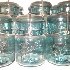 blue mason jar dating