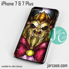the beast stained glass Phone case for iPhone 7 and 7 Plus