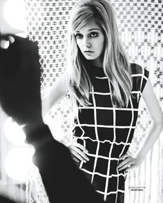 MARIE CLAIRE NETHERLANDS: Mathilde Frachon in 60s State of Mind by Photographer Fabio Chizzola