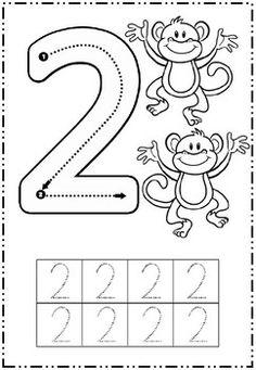 5 fiches pour apprendre à écrire les chiffres de 1 à 5 et ...