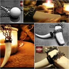 Las joyas de Cattay Exclusive tienen historia, porque todas están realizadas con marfil de mamut de más de 15.000 años de antigüedad. ¿Cuál es la tuya?  Exclusive Cattay jewels are history, because all are made from mammoth ivory more than 15,000 years old. What is yours?