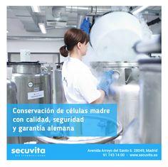En Secuvita conservamos las células madre de cordón umbilical con calidad, seguridad y  garantía alemana. Infórmate aquí.