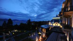 Welcome to the Beau-Rivage Palace in Lausanne, on the shores of Lake Geneva. Discover its universe, its restaurants and bars, its rooms and suites and its spa. Rivage, Lake Geneva, Palace Hotel, Lausanne, 5 Star Hotels, Switzerland, Spa, Country, Night