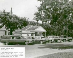 1962 Buick Flxible Hearse Factory Photo