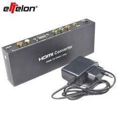 convertisseur  HDMI vers composante RGB YPbPr Audio Adaptateur vidéo HDMI vers VGA / SPDIF / RL support de 5.1CH son surround