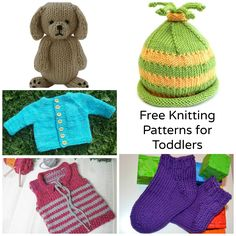 When babies grow and won't fit into those delicate knits, upgrade to these free knitting patterns for toddlers that are sweet but sturdy enough for play.