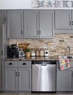 Our+Kitchen+Cabinet+Makeover