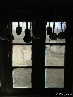 A Kitchen Window http://aborrowedbackpack.wordpress.com/2013/08/13/a-kitchen-window/