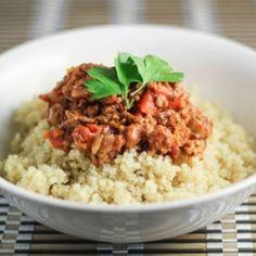 Quinoa Bolognese