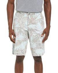 Original Paperbacks - Havana Print Linen Shorts - Lyst