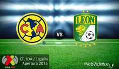 América vs León, Liguilla del Apertura 2015 ¡En vivo por internet! | Partido de ida - http://webadictos.com/2015/11/25/america-vs-leon-liguilla-ap2015-ida/?utm_source=PN&utm_medium=Pinterest&utm_campaign=PN%2Bposts