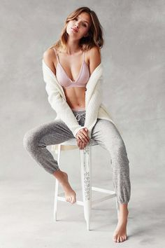 Out From Under Cozy Fleece Jogger Pant - Urban Outfitters