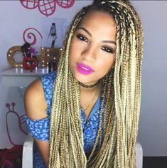Tranças afro: dicas, tutoriais e fotos de cabelos lindos para te inspirar - Dicas de Mulher
