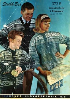 Setesdalkofte 372 S. Sandnes Uldvarefabrik A/S. Norwegian Knitting, Vintage Knitting, Jumpers, Bunt, Norway, Knitwear, Cardigans, Sweaters, Men Casual