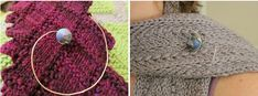 DIY Craft:  How to Make a Simple Wire and Bead Shawl Pin or Clasp