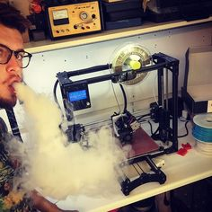 Brassfill friday! #Staytuned    #TGIF #OnTheGrind Vapefam #Vape #Vapeporn #Vapelyfe #3Dfam #3DPrinting #3Dprinted #Brass by umakeprinting