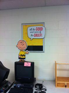 Classroom Peanut Decorations