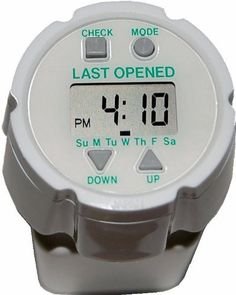 Pill Timer. Easy to Set. Automatically records LAST OPENED Day and Time indicator. Up to 24 Auto-Repeating Daily Alarms. Popular e-pill TimeCap fits on Pill Bottle (included). Proven in Clinical Study to Reduce Medication Non-Adherence. Great gift for anyone taking pills. e-pill Medication Reminders,http://www.amazon.com/dp/B004W8EQC4/ref=cm_sw_r_pi_dp_xBz.sb0VX3YP7YAY