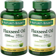 Nature's Bounty Flaxseed Oil Softgels feature flaxseed oil, a premium source of omega-3 and omega-6, two essential fatty acids that contribute to heart health and help provide an energy source for the body. As one of the best plant sources of omega-3 and -6 fatty acids, flaxseed oil is a... more details at http://supplements.occupationalhealthandsafetyprofessionals.com/herbal-supplements/flaxseed/product-review-for-natures-bounty-natural-cold-pressed-flaxseed-oil-1200mg-