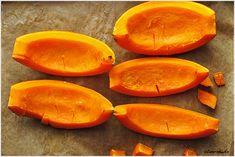 Puree z dyni - przepis krok po kroku - I Love Bake Sweet Potato, Mango, Potatoes, Vegetables, Fruit, Recipes, Kitchen, Manga, Cooking
