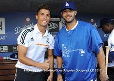 Double wammy Cristiano Ronaldo(soccer) and Andre Ethier(baseball)