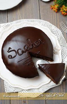 Torta Sacher o sachertorte ricetta