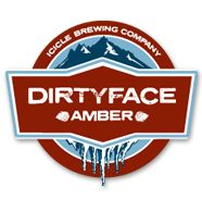 Icicle Brewing Company. Photo of Dirtyface Amber (Not available at Bavarian Lodge)
