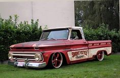 1964 1965 1966 Chevy C10 style Daily Driver Shop truck from SmokeyStyle Paint Shop                                                                                                                                                     More