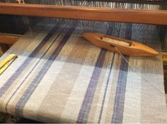 The past few weeks, weaving has been more therapy than anything else. At one point I told Doug that I was going to the loom because at leas. Navajo Weaving, Weaving Yarn, Weaving Textiles, Weaving Patterns, Hand Weaving, Cotton Towels, Tea Towels, Cricket Loom, Weaving Projects