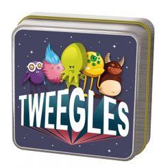 7 AÑOS_DEDUCCIÓN - TWEEGLES Cada carta «Tweegle» tiene un monstruo y un pequeño símbolo en ella. Dicho símbolo muestra lo qué le sucede a este monstruo y por lo tanto, qué carta «Acción» hay que coger lo más rápidamente posible del centro de la mesa.