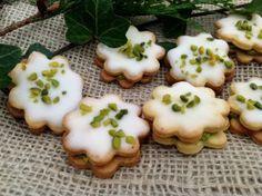 Pistazien-Zitronen-Kekse