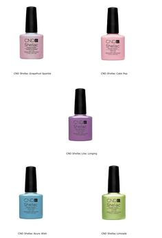 CND Shellac 2013 Spring collection