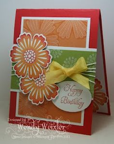 Beautiful Stampin Up card by Wendy Weixler at wickedlywonderfulcreations.blogspot.com