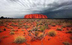 Desierto rojo de Australia
