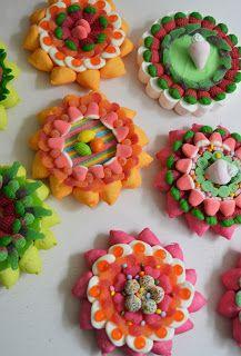 Tartas de chuches... Flores A la venta en Caramelini Terrassa y Pippa's Store Madrid