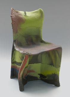 Pratt Chair (no. 3 in a sequence of by Gaetano Pesce, Art Furniture, Modern Furniture, Furniture Design, Unusual Furniture, Interior Architecture, Interior And Exterior, Interior Design, Grey Chair, Sofa Chair