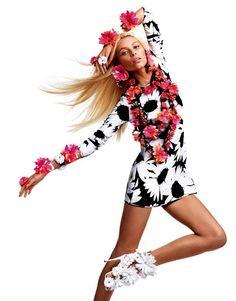 Flower Power! Blumarine's Spring Ad Campaign ♥ Photographer-Sebastian Faena,Stylist- Carlyne Cerf de Dudzeele,Model-Vika Falileeva
