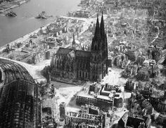 Rare Photos of Bombed Germany During the Second World War