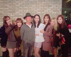 170112 SNSD Yuri&Tiffany&Seohyun Instagram update in '공조' Korean Film Premiere SNSD Yoona Sunny Seohyun Hyoyeon Tiffany Yuri