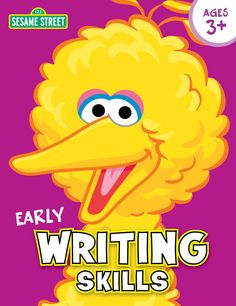 Sesame Street Early Writing Skills Workbook - http://frugalorfree.com/deals/sesame-street-early-writing-skills-workbook/