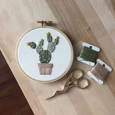 Items similar to Cactus Embroidery Hoop – Plant Embroidery – Plant Lady Embroidery – Boho Wall Decor – Botanical Wall Art – Embroidery Art – Cactus Nursery on Etsy Cactus Handmade Embroidery Hoop Cactus Embroidery, Embroidery Flowers Pattern, Simple Embroidery, Embroidery Patterns Free, Modern Embroidery, Hand Embroidery Patterns, Vintage Embroidery, Embroidery Stitches, Beginner Embroidery