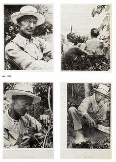 Herman Hesse, around 1935. | Flickr - Photo Sharing!