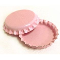 "$3.99 for 50 ""Light Pink"" bottle caps! on Amazon.com"