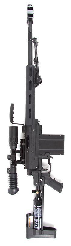 Carmatech SAR-12 Sniper Custom Build – owned by Paintballshop Hannover